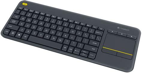 logitech wireless touch keyboard k400 plus review techgage