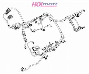 Holden Vf Sv6 V6 Lfx 6sp Manual Engine Ecu Wiring Harness