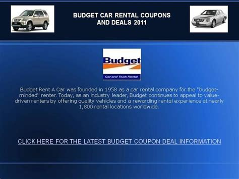 Budget-car-rental-coupons-2011 |authorstream