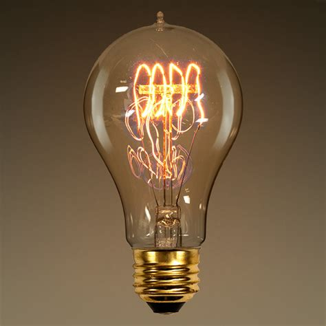 60 watt vintage light bulb 4 18 in length
