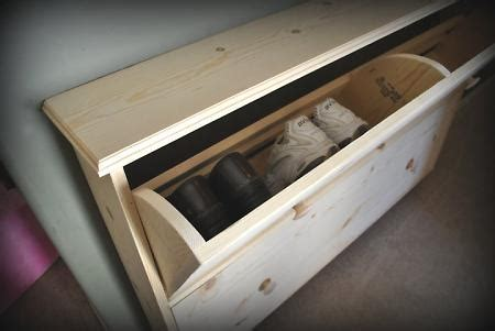 console table  shoe storage wrapped       entry  scheming