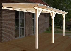 Terrassenuberdachungen holz selber bauen komplett bausatz for Terrassenüberdachung bausatz