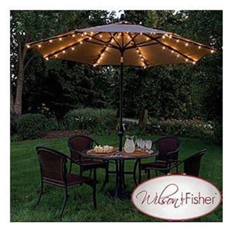 patio umbrella light set kit fits standard umbrellas