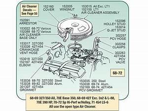 66-74 Pcv Valve Cover Grommet   454