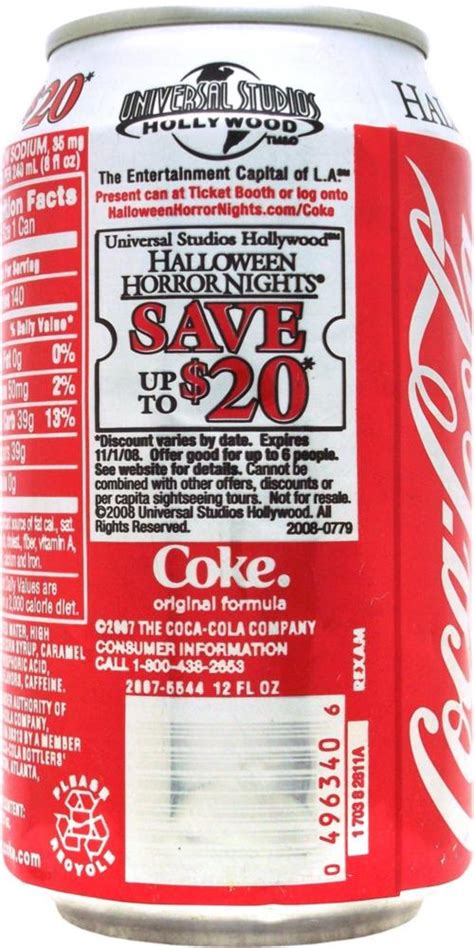 63182 Staging Coupon Code by Coca Cola Cola 355ml Universal Studios Ho United States