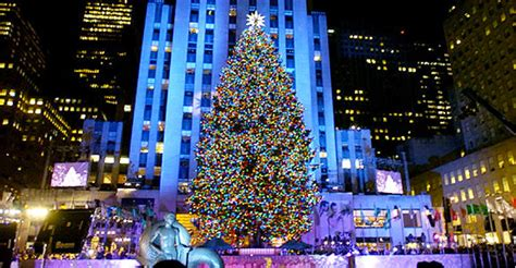 when is the christmas tree lighting nyc location independence at christmas new york and london