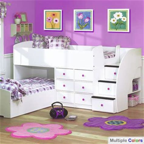 literas bajitas y espacio bien ocupado deco ideas bunk bed rooms and
