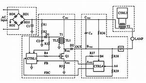 Electronic Ballast Driver For Mercury Vapor Lamp