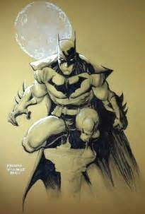 Batman Comic Book Art