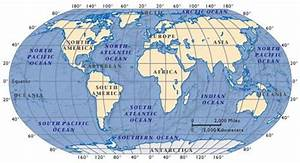 How Many Oceans and Seas | Oceans and Continents | How ...