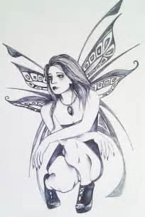 Gothic Fairy Drawings Easy