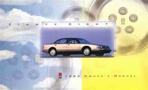 1993 Oldsmobile 88 Owners Manual User Guide