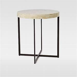 bone side table west elm With west elm bone coffee table