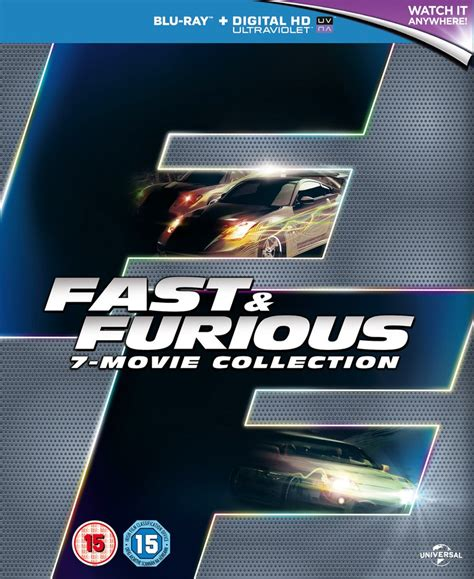 fast and furious 1 7 fast furious 1 7 boxset includes ultraviolet copy