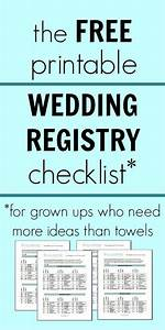 free printable wedding registry checklist wedding love With wedding registry for honeymoon