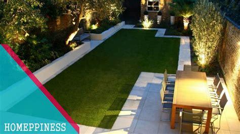 attractive rectangular garden ideas