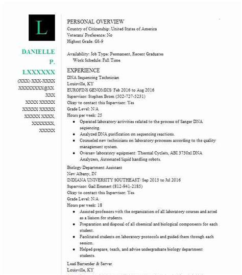 Fda Chemist Resume by Science Resume Exles Sles Livecareer