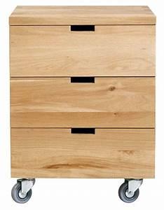 Caisson Tiroir Bois : ethnicraft collection oak bureau ~ Teatrodelosmanantiales.com Idées de Décoration