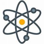 Icon Science Atom Icons Symbol Electrons Chemistry
