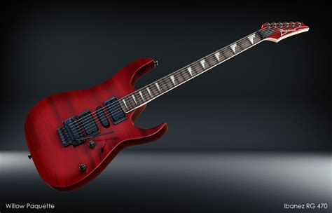 ArtStation - Ibanez RG 470, Willow Paquette