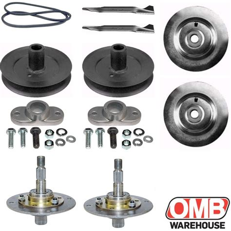 murray mower deck pulley 38 quot deck rebuild kit for mtd lawn chief ranch king belt