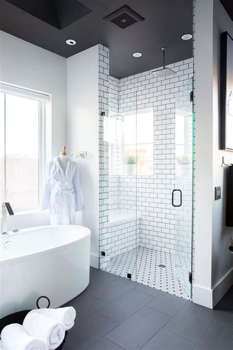 25 best ideas about white tile shower on