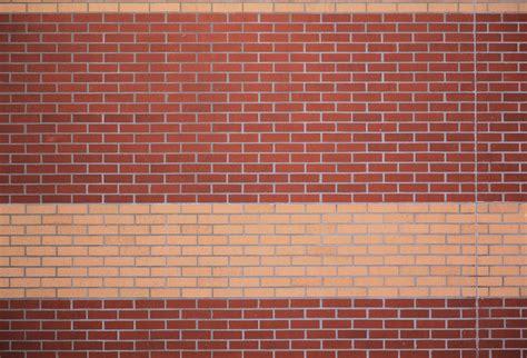 colonial home design brick texture wall yellow stripe pattern wallpaper