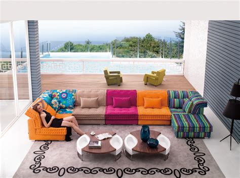 canapé design tissu nohant le roi du canapé canapé