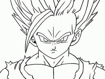 Goku Easy Drawing Dragon Ball Drawings Step