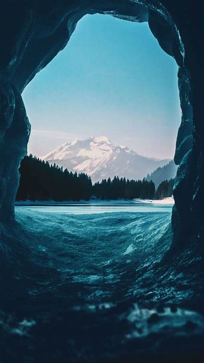 Iphone Ice Nature Wallpapers Snow Igloo Winter