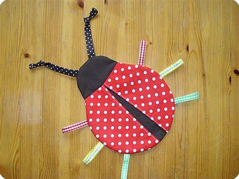 sew   city ladybird fabric toy