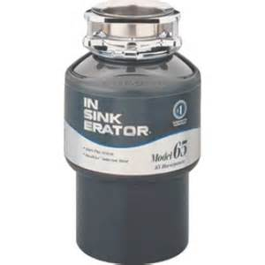insinkerator model 65 220 240 volt garbage disposal