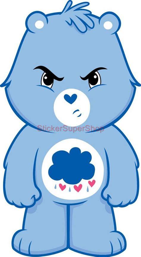grumpy bear care bears decal removable wall sticker home decor art kids bedroom ebay