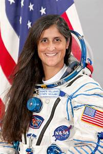 Indian Astronauts Sunita Williams - Pics about space