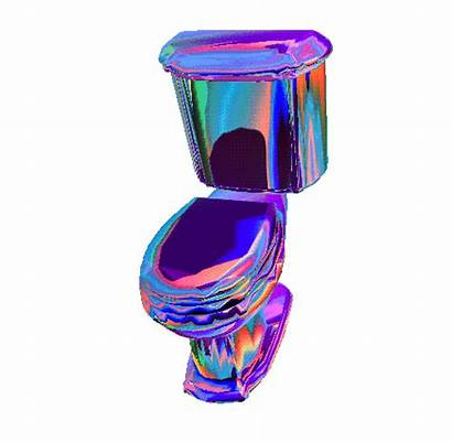 3d Transparent Animated Holographic Gifs Toilet Aesthetic