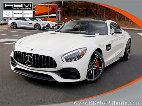 Mercedes outfits it with a lot of standard features, as it should at these prices, and offers a lot options to make it more comfortable and improve performance. New 2019 Mercedes-Benz GT AMG® GT C Coupe Coupe in Atlanta #M33583 | RBM of Atlanta