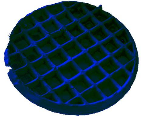 blue colored waffle blue waffle image gallery your meme