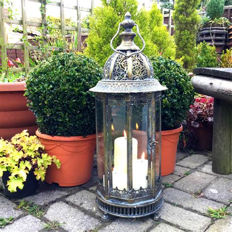 home interiors and gifts candles large metal garden lantern candle holder antique