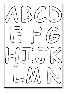 printable letter stencils  painting printable  degree