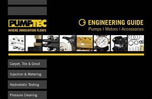 Pumptec Product  U0026 Service Manuals