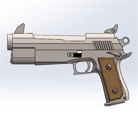 fortnite gun pistol  printer file ufb cults