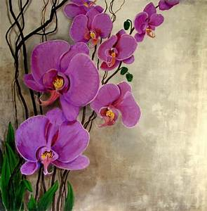 ORCHIDS flowers Purple large size format by ArtCalifornia ...