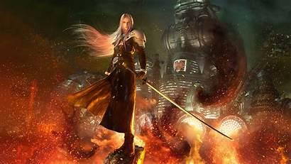Fantasy Final Remake Vii Wallpapers 4k Games