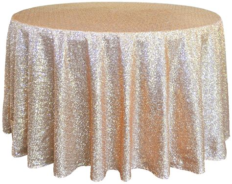 High Chair Cheap by Champagne Sequin Table Cover Linens 132 Quot