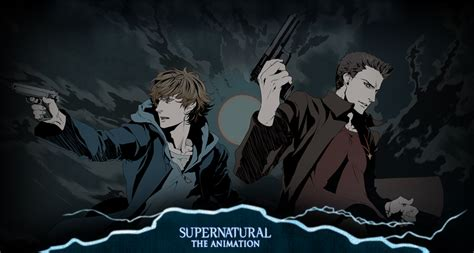 Supernatural Anime Wallpaper - supernatural the animation by greedlin on deviantart