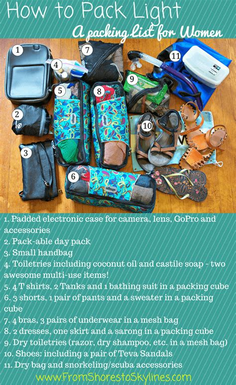 how to pack light travel packing list a peek inside my bag