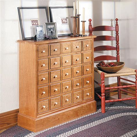apothecarys friend cabinet woodworking plan  wood magazine