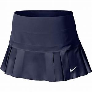 Nike Golf Skort Size Chart Nike Womens Woven Pleated Skort Midnight Navy White