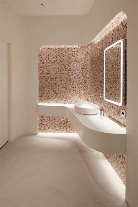 piastrelle in mosaico per bagno bagno con pavimenti e rivestimenti in mosaico 100 idee