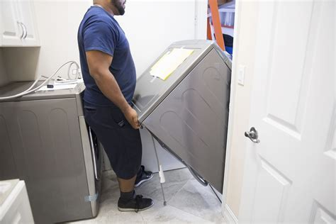 How to Disconnect Move and Install a Clothes Dryer